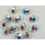 Стразы для инкрустации Crystal AB.Размер ss12(3mm).100штук фото
