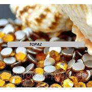 Стразы ДМС Topaz ss4(1,6мм).Цена за 100шт. фото