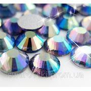 Стразы DMC Tanzanite AB ss4(1,6мм).Цена за 100шт. фото