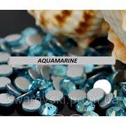 Стразы ДМС Aquamarine ss3(1,4мм).Цена за 100шт. фото
