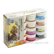 "Hand&Nail Harmony Riches Collection Color Powder Kit - коллекция ""Богатство"" (перламутровые оттенки, оттенки металлик) фото"