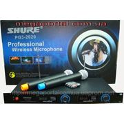 Sennheiser EW128 G2 (Sennheiser EW135 G2), Shure PG3-2020 2 радиомикрофона Shure PG3 2020. фото