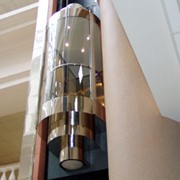 Лифты панорамные(с прозрачными кабинами) фото