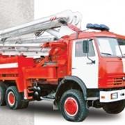 Пожарный пеноподъемник ППП-32 фото