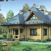 Деревянный дом - Проект дома ПД-8-131 Материал: сосна фото