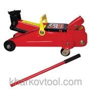Домкрат гидравлический подкатной в чемодане Intertool GT0103 фото
