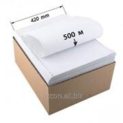 Бумага перфорированная 420мм*500м HPF420-500 фото