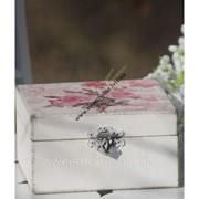 Шкатулка с розой фото