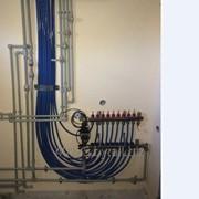 Монтаж внутренних отопительных систем под ключ фото