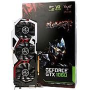 Colorful NVIDIA GeForce 1060 GTX 1809 Mhz PCI-E 3 Gb 8008 Mhz 192 bit 3xDisPlayport 1xHDMI 1xDVI iGame GTX 1060 U-TOP 3 GB фото