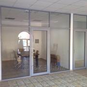 Офисные перегородки в Астане, наличие на складе, недорого фото