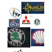 Нанесение логотипа любой сложности термо печатью на все виды ткани и трикотажа фото