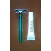 Набор для бритья (станок+крем для бритья) фото