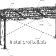 Крышная система Prolyte LT Roof фото