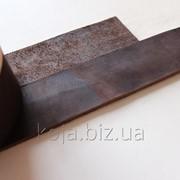 Полосы натуральной кожи для ремней и ошейников не обработанные коричневого цвета, арт. СКУ 9002.1638 фото