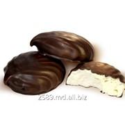 Zefir în glazură de ciocolată фото