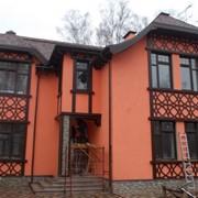 Оформление фасадов зданий в Лабинске фото