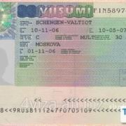 Польская виза рабочая(ВОЕВОДСКАЯ) фото