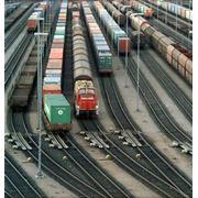 Доставка железнодорожным транспортом фото