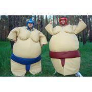 Прокат. Костюмы для борьбы сумо. фото