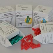 Скарификатор Soft, 30G, зеленый д/ручки-держателя фото