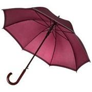 Зонт-трость Unit Reflect, бордовый фото
