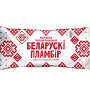 Мороженое Беларускi пламбiр с ароматом ванили на палочке, 80 г фото