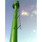 Ремонт водонапорных башен. фото