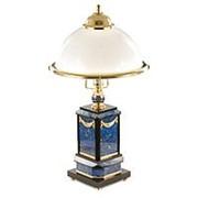 Настольная лампа из лазурита фото