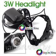 Светодиодный головной фонарь 3Dn CREE AAA фото