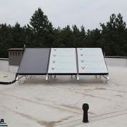 Солнечные коллектора для обеспечения горячей водой. Монтаж солнечных коллекоров от профессионалов. фото
