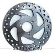 Тормозной диск 140 мм для детского электромотоцикла Hook Ox, TVL Mini, Mini rocket MC-243 фото