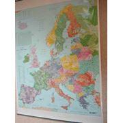 Карты Европы фото