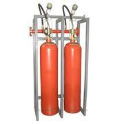 Модуль газового пожаротушения МГП-2-60 коллектор DN70 с СИМ фото