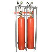 Модуль газового пожаротушения МГП-2-80 коллектор DN50 с СИМ фото