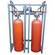 Модуль газового пожаротушения МГП-2-60Р коллектор DN32 фото