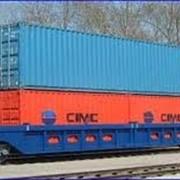 Контейнерные перевозки жд и морским транспортом фото