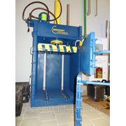 ПГП-6-мини от 4 до 12 тонн, пресс пакетировочный для макулатуры, полимеров, текстиля, тюк 15-70 кг. фото