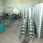 Воздуховод круглый спирально-навивной из оцинкованной стали 0,5мм диаметр 200мм фото