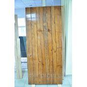 Двери деревянные авторские под старину в Донецке фото