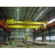 Кран мостовой электрический двухбалочный г/п 32 т. фото