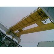 Кран мостовой электрический двухбалочный г/п 50/5 т. фото