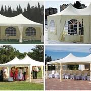 Аренда шатров 5х7 для торжеств. Для свадеб праздников шатер 34кв.м снять фото