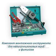 Машина для сварки полипропиленовых труб СМ-1. Паяльник Candan фото