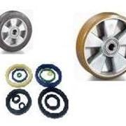 Запасные части к штабелерам, роклам - ремонтные комплекты, колеса, уплотнения, аккумуляторные батареи, подшипники фото
