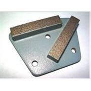 Фреза для получистового шлифования бетона, мозаичных полов на твёрдой металлической связке. фото