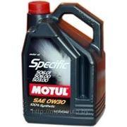 Моторное масло MOTUL SPECIFIC VW 506.01-506.00-503.00 , 5 л., синтетика фото