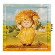 Гобелен в расписной раме Ангел крепкого здоровья 45х45 ANG-267 фото