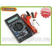 Мультиметр тестер вольтметр амперметр DT-838 , купить вольтметр DT838, DT 838 фото