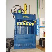 ПГП-4-мини, ужим от 4 до 15 тонн, пресс пакетировочный, вес тюка 10-70 кг, на 220 и 380 В фото